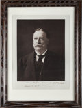 Autographs:Photos, 1909 President William Howard Taft Signed Large Photograph....