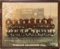 Football Collectibles:Photos, 1924 Chicago Bears Vintage Oversized Photograph Display....