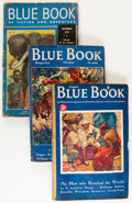 Pulps:Hero, Blue Book Group (McCall, 1934-39) Condition: Average VG-.... (Total: 6 Items)