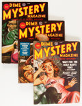 Pulps:Horror, Dime Mystery Magazine Group (Popular, 1946-49) Condition: AverageVG+.... (Total: 9 Comic Books)