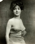 Books:Prints & Leaves, Photograph Depicting Celebrity Evelyn Nesbit (1884-1967). Black andwhite. Measures 9.5 x 12.5 inches. Handling wear. Very g...