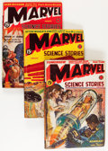 Pulps:Science Fiction, Marvel Science Stories Group (Red Circle, 1939-52).... (Total: 8Items)