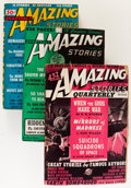 Pulps:Science Fiction, Amazing Stories Quarterly Group (Radio-Science Publications,1940-47).... (Total: 5 Items)