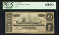 Confederate Notes:1864 Issues, T67 $20 1864 PF-10 Cr. 410.. ...