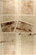 Books:Americana & American History, Facsimile Copy of The Articles of Confederation. Eightpages, measuring 14 x 10.75 inches. Some handling wear, else ...