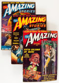 Pulps:Science Fiction, Amazing Stories Group (Ziff-Davis, 1940-41) Condition: AverageVG.... (Total: 20 Items)