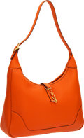 Luxury Accessories:Bags, Hermes 31cm Orange H Togo Leather Trim II Bag with Gold Hardware....