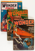 Pulps:Science Fiction, Thrilling Wonder Stories Group (Standard, 1934-44) Condition:Average VG.... (Total: 24 Items)