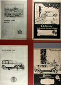 Books:Prints & Leaves, Group of Four Italian Fiat Advertisements from the 1920s. Takenfrom L'Illustrazione Italiana magazine, a popular Italia...