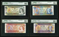 Canadian Currency: , Canadian Specimen Note Group. ... (Total: 8 notes)