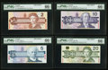Canadian Currency: , Canadian Specimen Set 0879. ... (Total: 6 notes)