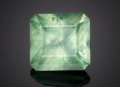Gems:Faceted, RARE GEMSTONE: SMITHSONITE - 9.69 CT.. Namibia. ...