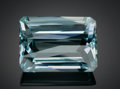 Gems:Faceted, LARGE GEMSTONE: AQUAMARINE - 106.0 CT.. Minas Gerais,Brazil. ...