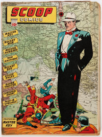 Scoop Comics #3 (Chesler, 1942) Condition: GD+