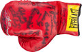 Boxing Collectibles:Autographs, 1998 Boxing Greats Multi Signed Everlast Glove. ...