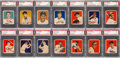 Baseball Cards:Lots, 1949 Bowman Baseball Low Numbers (103) - Completely Graded. ...