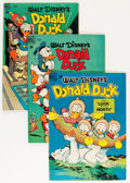 Golden Age (1938-1955):Cartoon Character, Four Color Donald Duck Related Group (Dell, 1949-52) Condition:Average VG+.... (Total: 11 Comic Books)