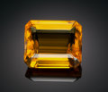Gems:Faceted, RARE GEMSTONE: CALCITE - 52.2 CT.. Brazil. ...