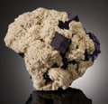 Minerals:Cabinet Specimens, FLUORITE with BARYTE. Elmwood Mine, Carthage, Central TennesseeBa-F-Pb-Zn District, Smith Co., Tennessee, USA. ...