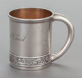 Silver Holloware, American:Child's Cups, A W.K. VANDERSLICE COIN SILVER CHILD'S CUP. W.K. Vanderslice & Co., San Francisco, California, circa 1880. Marks: W.K. VAN...