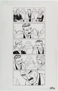 John Romita, Jr. and Klaus Janson Amazing Spider-Man #585 Page 10 Original Art (Marvel, 2009)