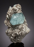 Minerals:Cabinet Specimens, AQUAMARINE. Chumar Bakhoor, Hunza Valley, Gilgit District,Gilgit-Baltistan (Northern Areas), Pakistan. ... (Total: 2Items)