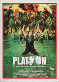 "Movie Posters:Academy Award Winners, Platoon (Orion, 1987). Italian 2 - Foglio (39"" X 55""). AcademyAward Winners.. ..."