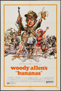 "Movie Posters:Comedy, Bananas Lot (United Artists, 1971). One Sheet (27"" X 41"") &Lobby Card Set of 8 (11"" X 14""). Comedy.. ... (Total: 9 Items)"