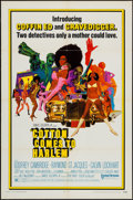 """Movie Posters:Blaxploitation, Cotton Comes to Harlem (United Artists, 1970). One Sheet (27"""" X41""""), Lobby Card Set of 8 (11"""" X 14""""), & Color Photos (2) (8...(Total: 11 Items)"""