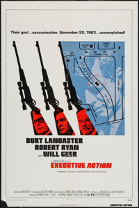 """Executive Action (National General, 1973). One Sheet (27"""" X 41"""") Style B & Lobby Card Set of 8 (11&quo..."""