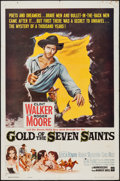 "Movie Posters:Adventure, Gold of the Seven Saints & Other Lot (Warner Brothers, 1961).One Sheets (2) (27"" X 41""). Adventure.. ... (Total: 2 Items)"