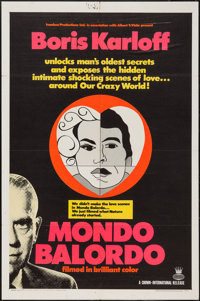 "Mondo Balordo (Crown International, 1967). One Sheet (27"" X 41"") & Lobby Card Set of 8 (11"" X 14&..."