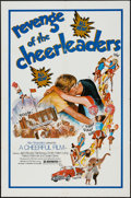 "Movie Posters:Sexploitation, Revenge of the Cheerleaders (Monarch, 1976). One Sheet (27"" X 41"")& Photos (7) (8"" X 10""). Sexploitation.. ..."