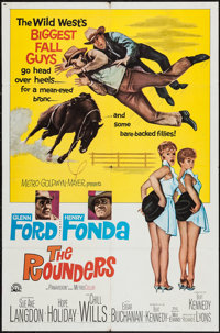 "The Rounders (MGM, 1965). One Sheet (27"" X 41"") & Lobby Card Set of 8 (11"" X 14""). Comedy..."