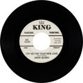 "Music Memorabilia:Recordings, Junior McCants Rare Northern Soul Promo 45 ""Try Me For Your New Love"" (King 6106 white label promo, 1967)...."