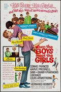 "Movie Posters:Musical, When the Boys Meet the Girls (MGM, 1965). One Sheet (27"" X 41"").Musical.. ..."