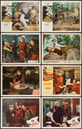 "Movie Posters:Adventure, Call of the Klondike & Others Lot (Monogram, 1950). Lobby Cards(8) (11"" X 14""). Adventure.. ... (Total: 8 Items)"