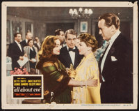 "All About Eve (20th Century Fox, 1950). Lobby Card (11"" X 14""). Academy Award Winners"