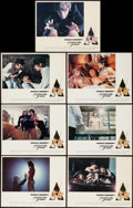 """Movie Posters:Science Fiction, A Clockwork Orange (Warner Brothers, 1971). British Lobby Cards (7)(11"""" X 14""""). Science Fiction.. ... (Total: 7 Items)"""