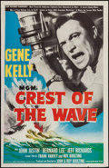 "Movie Posters:Drama, Crest of the Wave & Other Lot (MGM, 1954). One Sheet (27"" X41"") & Half Sheet (22"" X 28""). Drama.. ... (Total: 2 Items)"