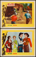 """Movie Posters:Western, High Noon (United Artists, 1952). Lobby Cards (2) (11"""" X 14"""").Western.. ... (Total: 2 Items)"""