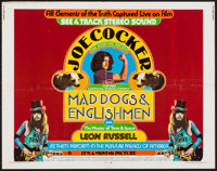 """Mad Dogs & Englishmen (MGM, 1971). Half Sheet (22"""" X 28""""). Rock and Roll"""