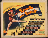 """Reveille with Beverly (Columbia, 1943). Title Lobby Card (11"""" X 14""""). Musical"""