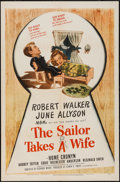 """Movie Posters:Comedy, The Sailor Takes a Wife & Other Lot (MGM, 1945). One Sheets (2) (27"""" X 41""""). Comedy.. ... (Total: 2 Items)"""