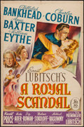 "Movie Posters:Comedy, A Royal Scandal (20th Century Fox, 1945). One Sheet (27"" X 41""). Comedy.. ..."
