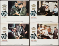 "The Sting (Universal, 1973). Lobby Cards (4) (11"" X 14""). Crime. ... (Total: 4 Items)"