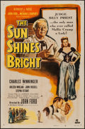 """Movie Posters:Drama, The Sun Shines Bright & Other Lot (Republic, 1953). One Sheets (2) (27"""" X 41""""). Drama.. ... (Total: 2 Items)"""