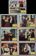 "Movie Posters:Comedy, Unfaithfully Yours (20th Century Fox, 1948). Lobby Cards (7) (11"" X14""). Comedy.. ... (Total: 7 Items)"
