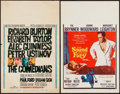 """Movie Posters:Drama, The Comedians & Others Lot (MGM, 1967). Window Cards (7) (14"""" X22""""). Drama.. ... (Total: 7 Items)"""