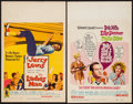 "Movie Posters:Comedy, The Ladies Man & Others Lot (Paramount, 1961). Window Cards (4) (14"" X 22"") & Trimmed Window Card (14"" X 17""). Comedy.. ... (Total: 5 Items)"
